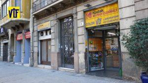 Revelar carretes de foto analógica en Navidad 2019, Colorvif Barcelona su tienda de foto